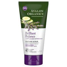 Avalon Organics Brilliant Balance Enzyme Scrub, 100 ml