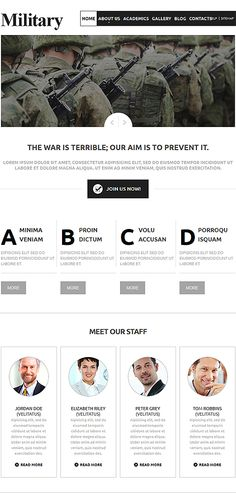 Military #Joomla #template. #themes #business #responsive