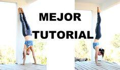 Parada de manos paso a paso - handstand tutorial - 100% éxito