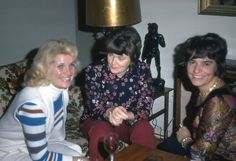 pic 40.  Another Party.  Hanneleis on the right, complete with ciggie in hand.  1972 Her Age :44 and still lovely.