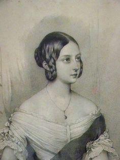 1841 sketch of Victoria by Steve Conrad.