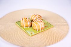 the chew | Recipe | Carla Hall's Pumpkin Pie Pinwheels Substitute with Apple or cherry filling, or sweet potato filling