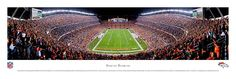 Denver Broncos - Invesco Field At Mile High Stadium - NFL Panoramic Picture $29.95