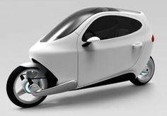 Moto futurista funciona como um smartphone sobre rodas