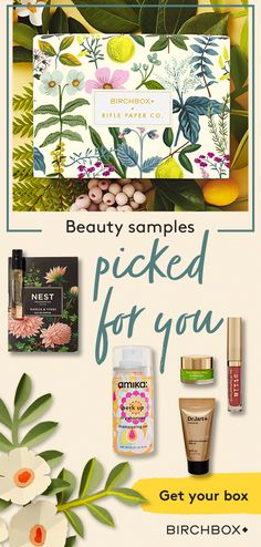 Join Birchbox for a personalized mix of 5 hair, makeup, skincare, and fragrance … – Care – Skin care , beauty ideas and skin care tips We Will Rock You, Just For You, Diy Beauty, Beauty Hacks, Packaging Design, Branding Design, Body Jewelry Shop, Fragrance Samples, Papers Co