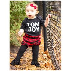 """Little Wonderland Clothing on Instagram: """"Hello... Miss Sweet Joss!❤️ <<cutest little tomboy>> Love this little outfit!! <<really how could you not>>❤️ Our TOMBOY one piece * plaid bloomers @kitschykidsco + sweet red bow @zozubaby + little Moccs @radmoccs  Back to my Manic Monday! #bossy #fashion #fashionista #kidsfashion #girl #pink #streetwear #hiphop #hipkidfashion #trendy #style #igkiddies #stylish #stylishkids #toddler #littlewonderlandclothing #love #ootd #harem #iconic #party"""