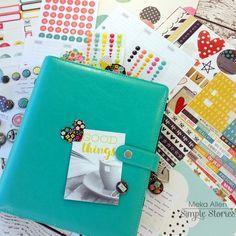 Carpe Diem Planner & Simple Stories products