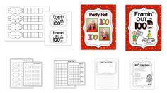 Teacher Idea Factory: HOORAY . . . IT'S THE 100TH DAY - HAT + BULLHORN Fun Ideas!