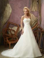 Mori Lee wedding dress #2105 at Glamourous Gowns.