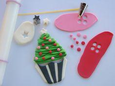 Lynlee's Petite Cakes: Sweet Winter Wonderland xmas tree tutorial