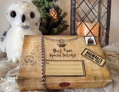 Owl Post Boxes Harry Potter valentine Valentines von MyPorchPrints