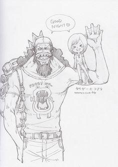 One Piece, Fisher Tiger, Koala