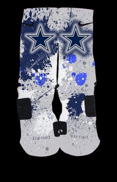 We have 2 different designs that have been so popular with teams, schools, etcWe now are letting you design your own based on the 2 patterns below.All we ask is that you put in the note at Checkout your team, school etc so that we may preview the design to you.  We ALWAYS preview the design before creating custom socks such as these so that you will know what they look like before creating them.If you need to contact us- thesickestsocks@gmail.comIf you would like text on...