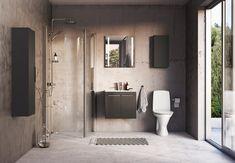 Med små ændringer på badeværelset kan du indrette et moderne rum med en afslappende atmosfære.