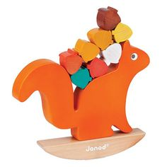 Nutty Balance designed by Janod (Juratoys). Un grand classique joliment revisité!