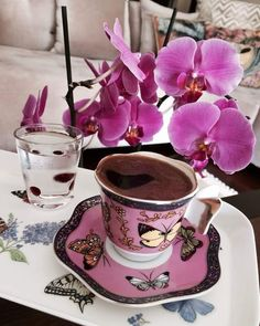 Sweet Coffee, Fresh Coffee, I Love Coffee, Coffee Set, Coffee Break, Brown Coffee, Vintage Coffee, Vintage Tea, Coffee Cafe