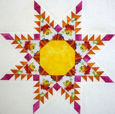 How to sew a Feathered Star Quilt Part 1 on http://www.lindafranz.com/blog/how-to-sew-a-feathered-star-quilt-part-1/