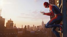This HD wallpaper is about Spider-Man wallpaper, Marvel Comics, New York City, cityscape, Original wallpaper dimensions is file size is Spider Man Ps4 Game, Spider Man 2018, 8k Wallpaper, Original Wallpaper, Spiderman Ps4 Wallpaper, Cityscape Wallpaper, Free Spider, Architecture Wallpaper, Story Arc