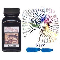 Noodler's Bottle 3 ounce Refill - Navy Blue 19038