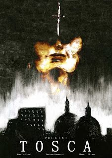 Christine Dardry Illustration: Promotional Poster Tosca Design