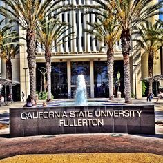 Can't wait to be back at school! Love CSUF