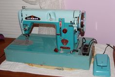 Vintage Japanese 'Badged' Zig Zag and Straight Sew Sewing Machines ...