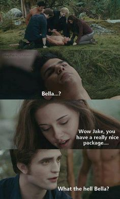 Jacob's package. LOL