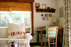 So inspired by the real, lived-in house of Blair Stocker (http://blairpeter.typepad.com/weblog) / designmom.com