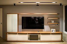 inspiration for livingroom Living Room Wall Units, Living Room Tv Unit Designs, Home Design Living Room, Living Room Modern, Living Room Decor, Tv Unit Decor, Tv Wall Decor, Tv Wall Design, House Design