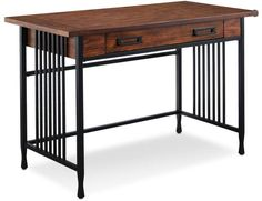 online shopping for Bowery Hill Computer Desk Mission Oak from top store. See new offer for Bowery Hill Computer Desk Mission Oak