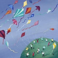 Kite Sailing 195 fine art limited edition prints + 20 artist proofs; Each print is individually signed and numbered by Jenni and supplied with a certificate of authenticity.