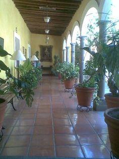 Casa de Los Patios.  Once a Hacienda today a Hotel. Sayula, Jalisco, MEXICO.