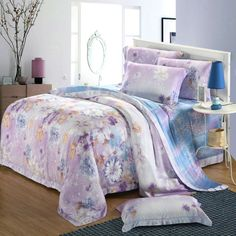 Beautiful comforter cover sets bedding Tencel bedding sets duvet cover set duvet cover set/bed sheet bed spread home textiles $116.00 - 118.00