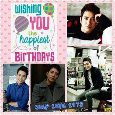 Happy birthday Sang Wook oppa ♥