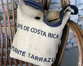 More upcycling ideas than you can shake a stick at, on etsy: http://www.etsy.com/search?includes%5B%5D=tags=upcycled+coffee+bag#