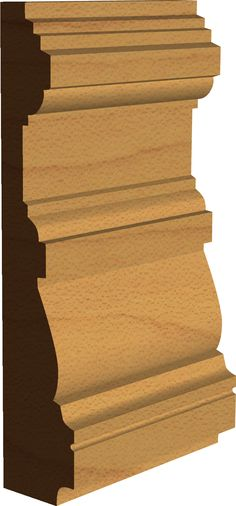 Edwardian 'Leven' Architrave Profile  Made by Period Mouldings  www.periodmoudlings.co.uk