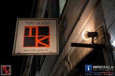 Martin Ohrt 'Kohlbein und Schatz' im Theater im Keller Graz - TiK - 003 Theater, Neon Signs, Graz, Environment, Photo Shoot, Pictures, Theatres, Teatro, Drama Theater