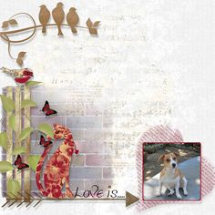 Our digital scrapbooking tutorials help you to create your perfect digital scrapbook and our digital scrapbooking store provides you with all the necessary tools Layout, Scrapbook, Love, Learning, Artist, Painting, Amor, Page Layout, Studying