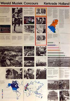 KERKRADE - WMC 1974 - achterkant poster