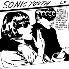 A classic poster from a Sonic Youth show at the Hollywood Palladium with a then-little-known band from Aberdeen, WA named Nirvana! Check out the rest of our excellent selection of Sonic Youth posters! Need Poster Mounts. Poster Pictures, Print Pictures, Room Pictures, Lp Vinyl, Vinyl Records, Vinyl Cover, Lp Cover, Sonic Youth Albums, Raymond Pettibon
