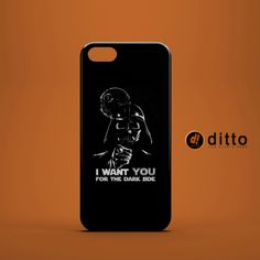 VADER WANTS YOU Design Custom Case by ditto! for iPhone 6 6 Plus iPhone 5 5s 5c iPhone 4 4s Samsung Galaxy s3 s4 & s5 and Note 2 3 4