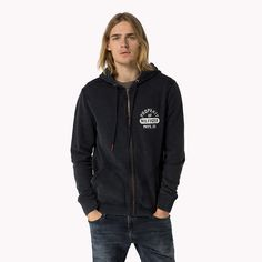 Tommy Hilfiger Cotton Hoody - caviar - Tommy Hilfiger Hoodies - main image
