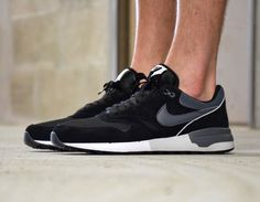 #Nike Air Odyssey Black/Grey #sneakers