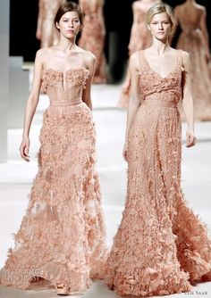 5234af843427 Ready for some Elie Saab Spring Summer 2011 couture gowns  First things  first – the wedding dress above