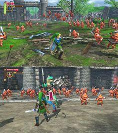 Zelda Hyrule Warriors #WiiU screenshots (december 2013)