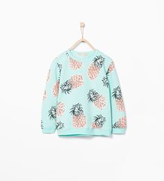 Image 2 of Pineapple sweatshirt from Zara