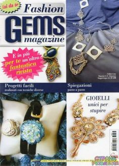 33 Fashion Gems 2013-05-06 - Fashion Gems magazine.Бижутерия.Украшения - Журналы по рукоделию - Страна рукоделия