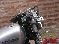 Suzuki GN 125 Cafe Racer :: KMtt Custom Motorcycles