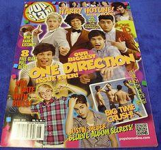POP STAR MAGAZINE (our BIGGEST issue ever) ONE DIRECTION JUSTIN BIEBER BTR HARRY FREE US SHIPPING Teen Magazines, Star Magazine, Justin Bieber, Selena Gomez, Baseball Cards, Pop, Stars, Free, Ebay