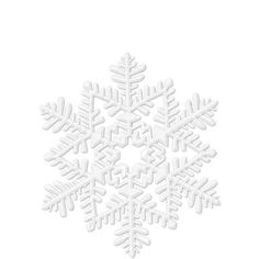 Possible snowflake/snow shower theme  Glitter White Snowflake 6in - Party City